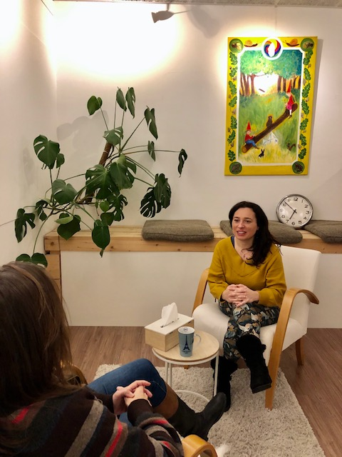 Inner voice coaching session with Daniela Russo