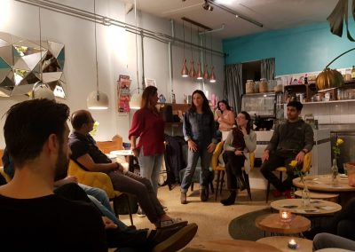 Life Coach Amsterdam group session